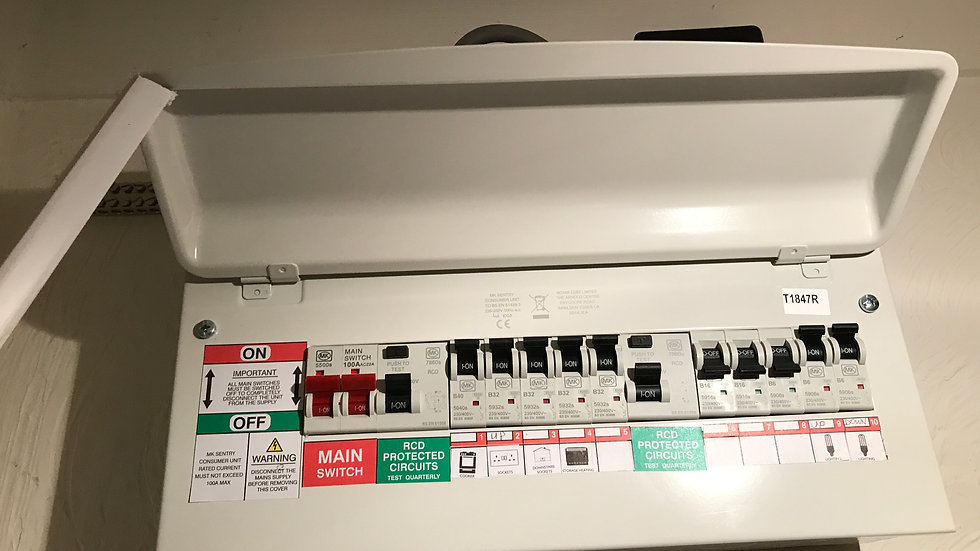 ELECTRICAL INSTALLATION & SERVICING