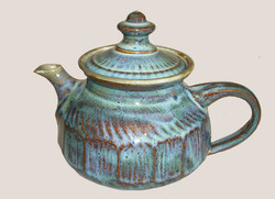 3 Blue Sculpted Teapot Schumaker copy