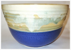 Blue/Buttercream Bowl