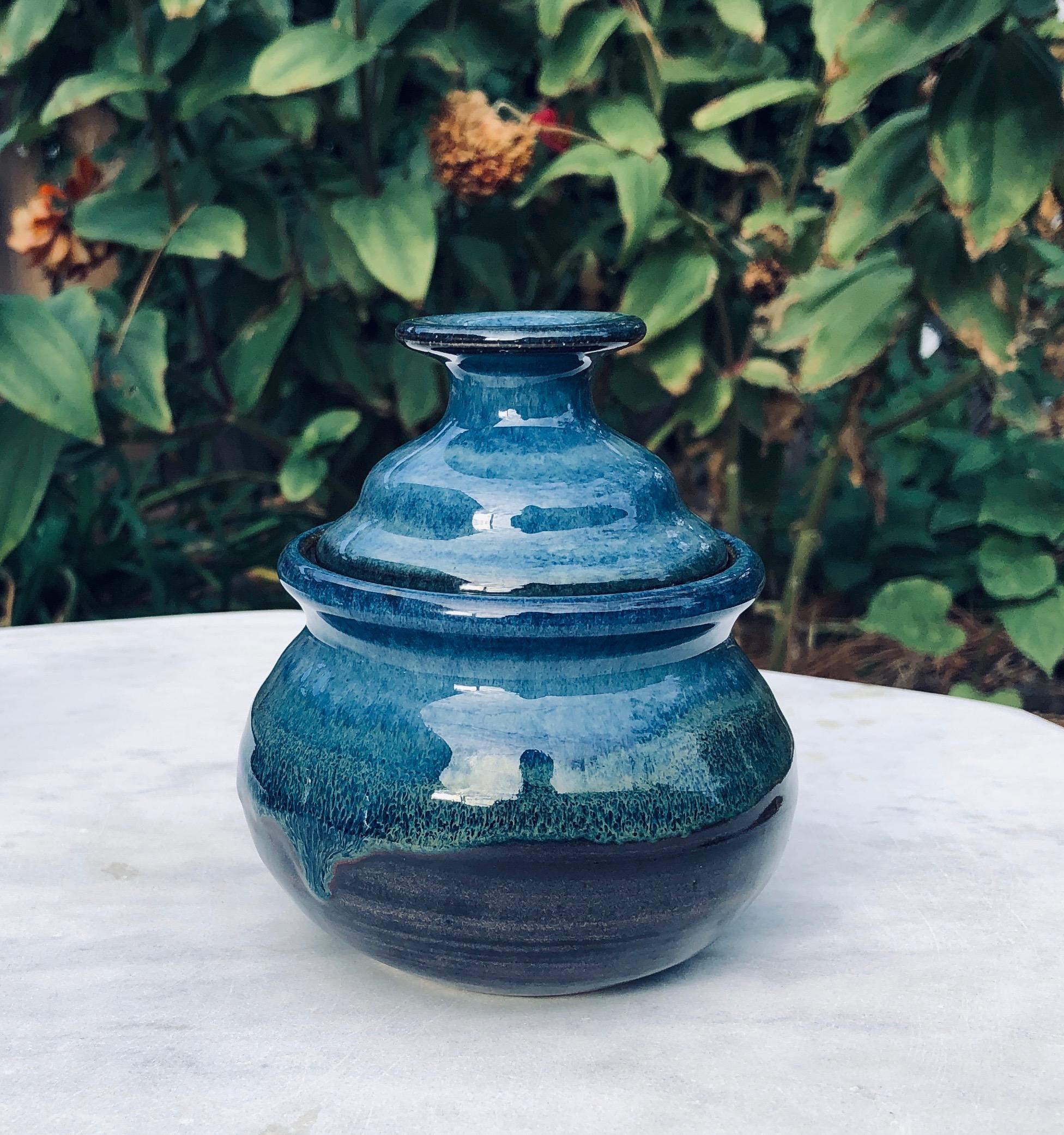 egg poacher saphire blue2