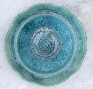 Blue/Green Platter