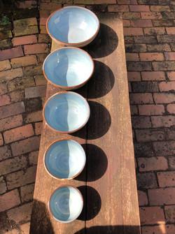 Set of 5 Bowls Teresa Schumaker1