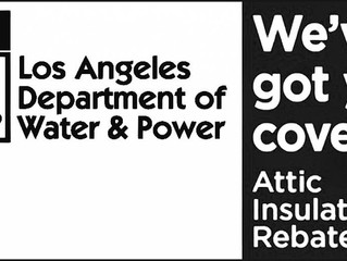 LADWP Home Insulation Rebate Program