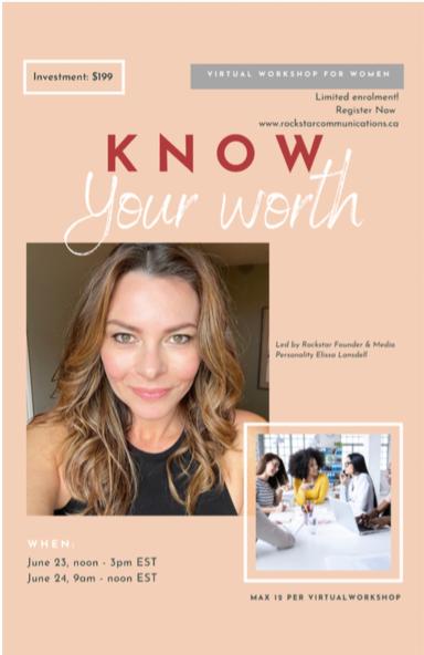 Know Your Worth Workshop