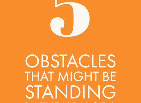 5 Obstacle that Might be Standing in the way of a Successful Brand