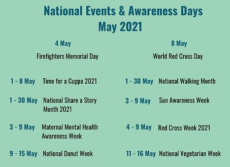 National Awareness Days April 2021.png