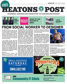 Issue 21. Heatons Post OCTOBER 2021 front cover