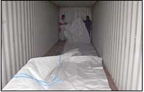Installing a container liner