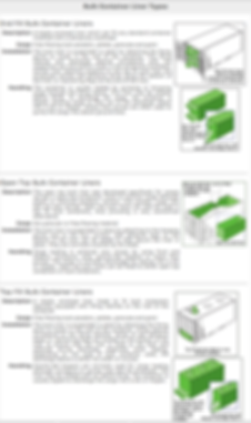 Container Liner Types