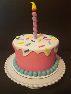 The Cartoon Birthday Cake