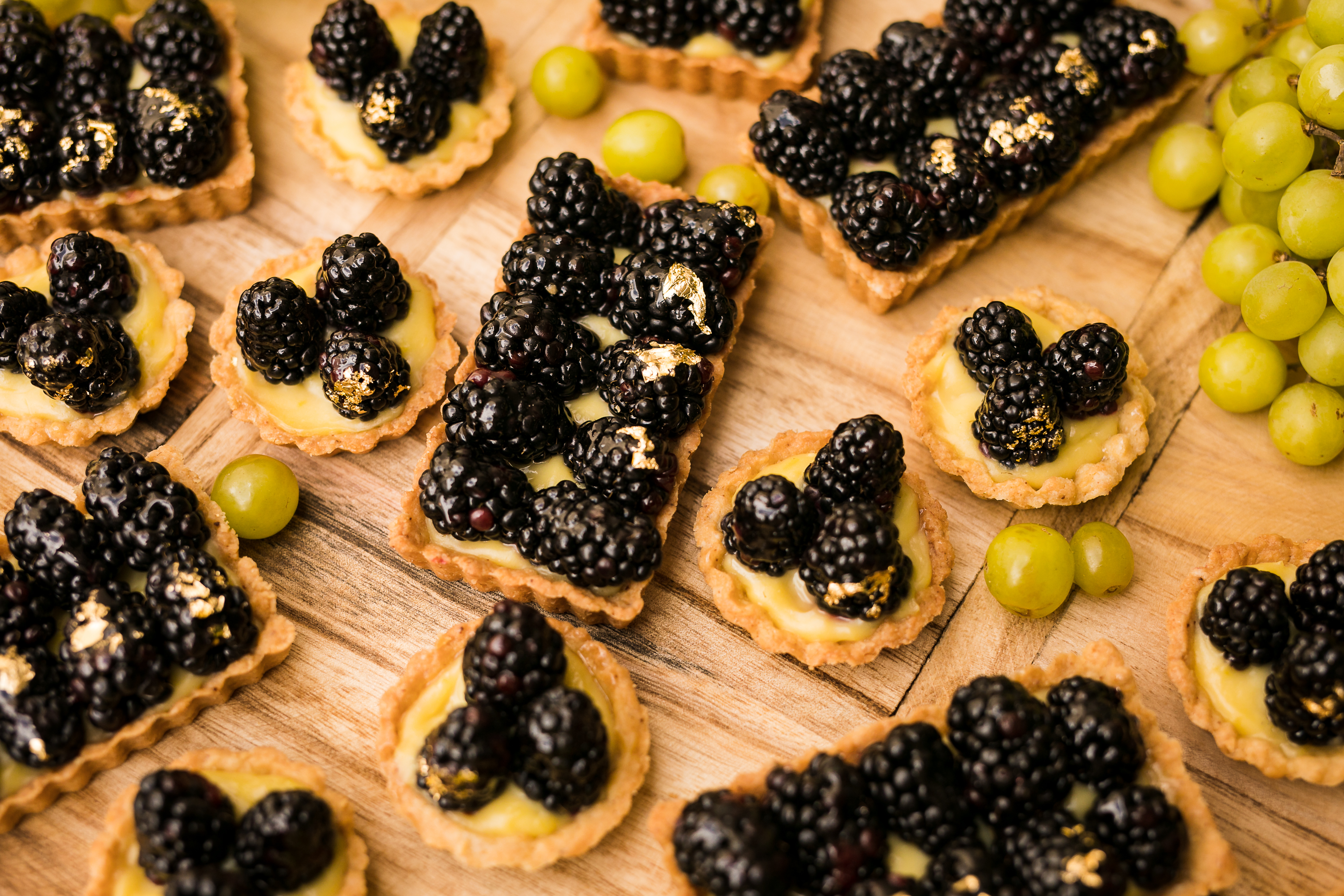 Blackberry Lemon Tartlets