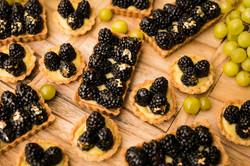 Blackberry Lemon Tartlets