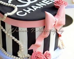 Chanel Gift Box Cake