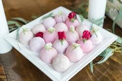 Individual Pink Princess Cakes