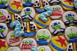 Toy Story Birthday Shortbread Cookies