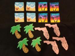 Florida Beach Vacation Cookies