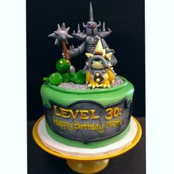League of Legends birthday cake