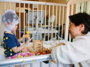 入院中のこどもの遊びと親の希望