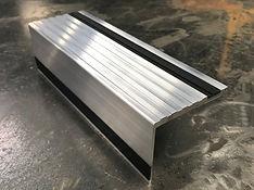 bespoke aluminium stair nosing
