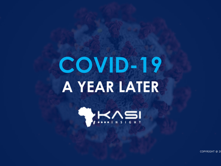 One year of COVID-19: A data story to illustrate how African lives have changed during the pandemic