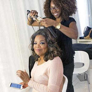 Meet the woman who does Oprah's hair