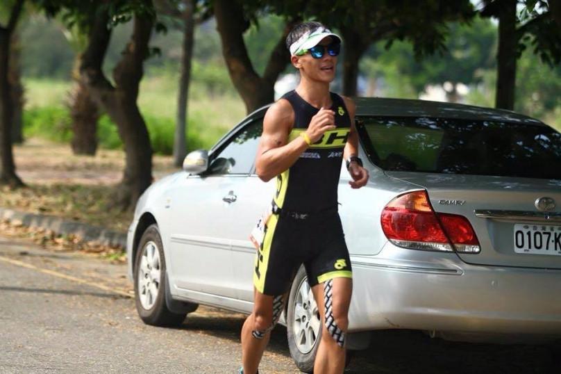 馬沙溝鐵人三項賽跑步段(圖片來源:王煥文)