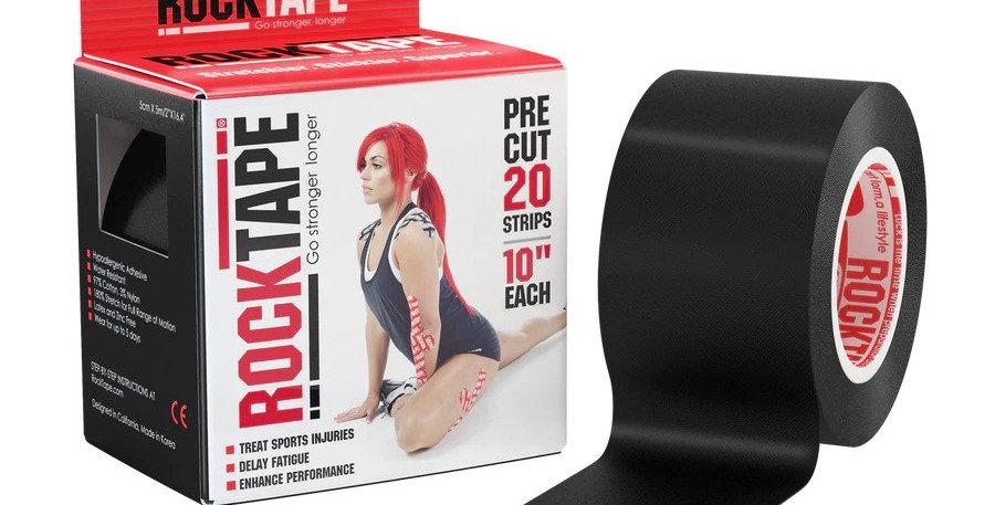 RockTape Pre-cut Black 黑色