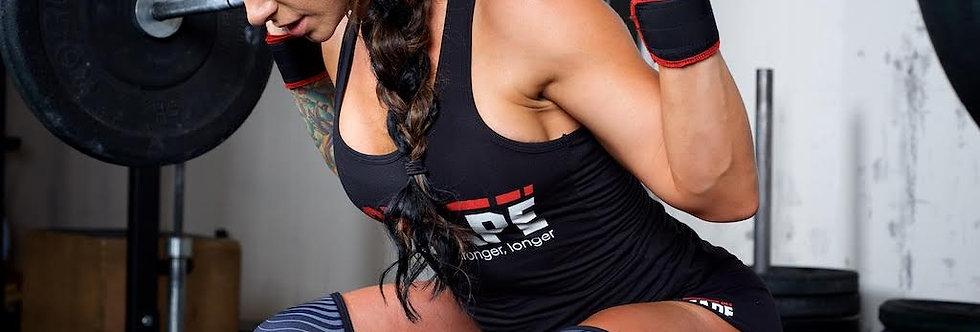 KneeCaps護膝-黑紅