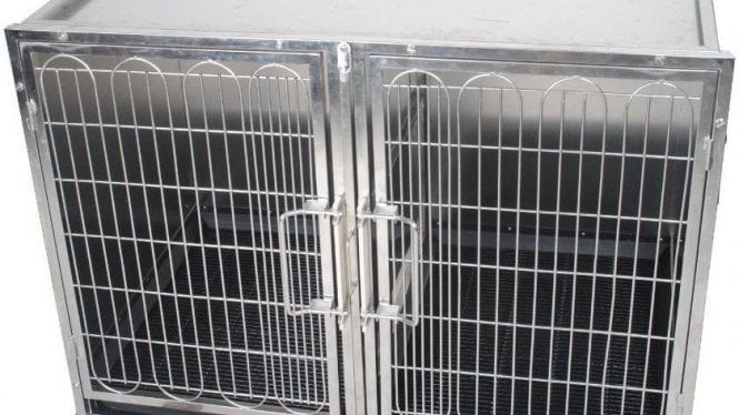 Large Stainless Steel Waiting Cage