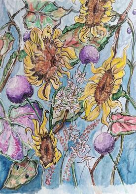 godden sunflowers