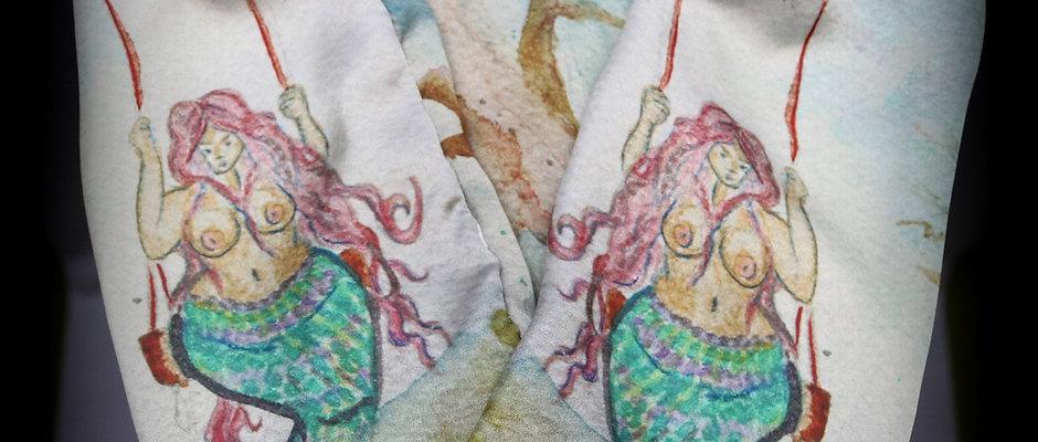Mermaid Pouch