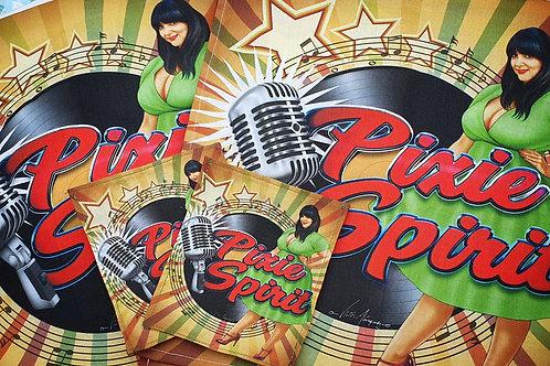 Pixie Tea Towel Full Set with Coasters