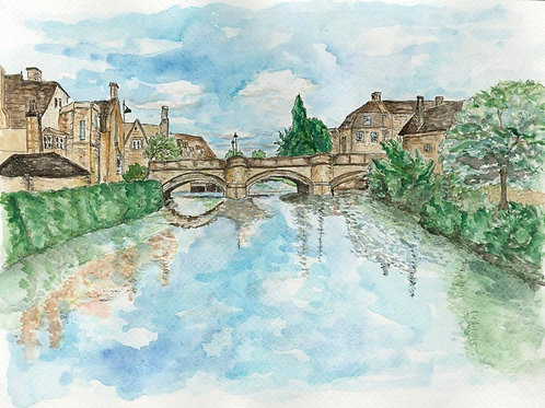 Stamford: Original Watercolor