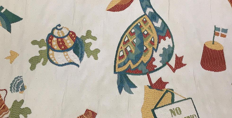 Beach Fabric - Starfish - Pelican