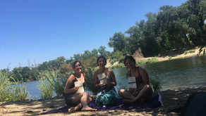 BRAIDING SWEETGRASS ON THE RIVER