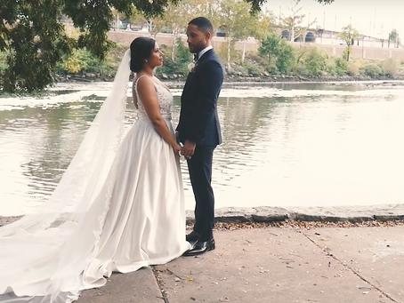 RENEE AND FRANCOIS | PHILADELPHIA FREE LIBRARY WEDDING
