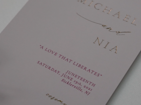 Nia and Michael | A Love that Liberates