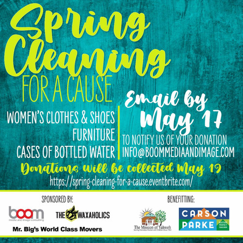 Spring Cleaning for a Cause