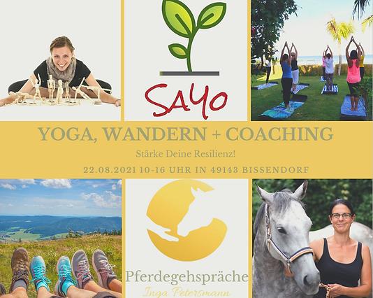 Wanderung Yoga Osnabrück