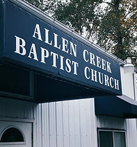 Marysville Baptist Church - Allen Creek