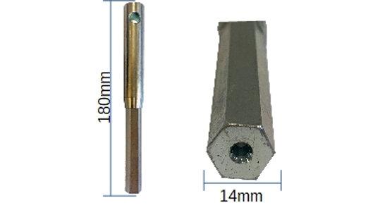 14mm Hex Key Tip - 022H14