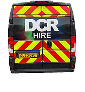 CCTV and Jetter hire van (rear view)