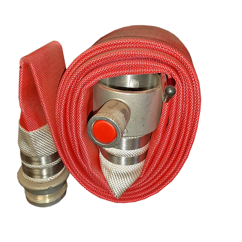 5m Fast Hydrant Filling Red Hose