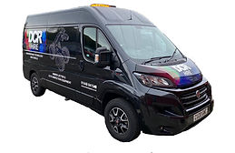 CCTV and Jetter hire van (front view)