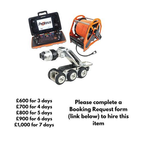 Mini Cam Proteus Crawler with 500m reel