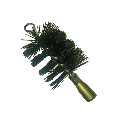 100mm Spiral Nylon Brush - Lockfast