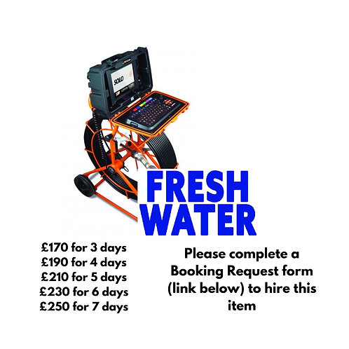 Mini Cam Solo Pro+ Fresh Water system with 60m reel