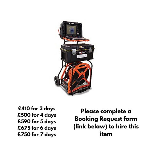 Portable Mini Cam Proteus system with 250m reel
