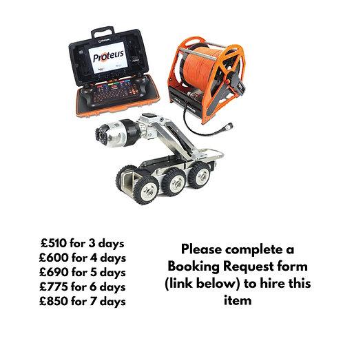 Mini Cam Proteus Crawler with 350m reel