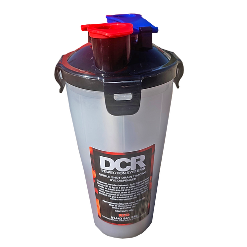 Single Shot Drain Dye Dispenser